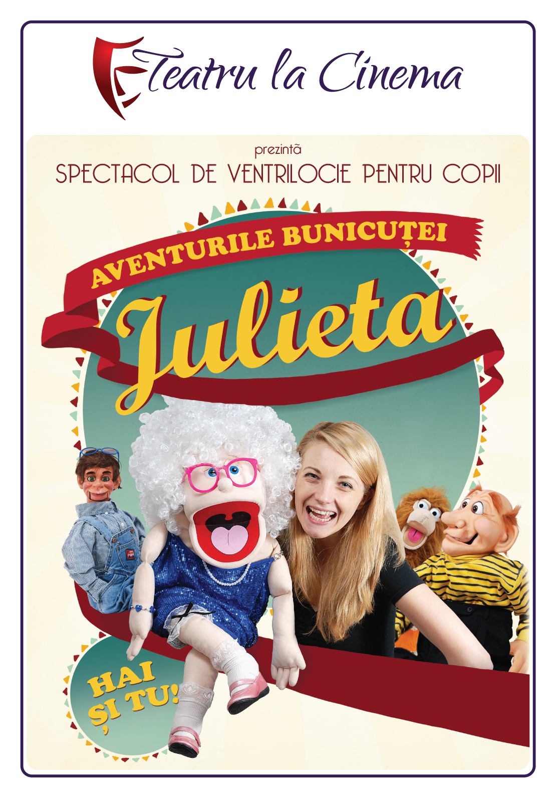 Aventurile bunicutei Julieta la Teatru la Cinema™ din Movieplex